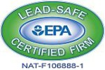 Lead-Safe Certified Firm with the EPA