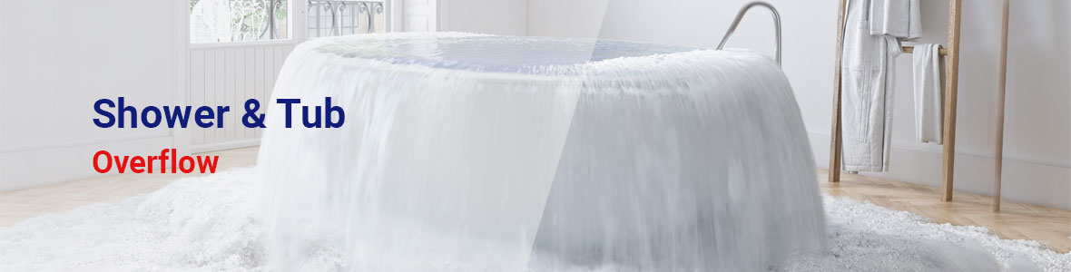 Shower & Tub Overflow Cleanup Service in Cleveland County & Surrounding Areas