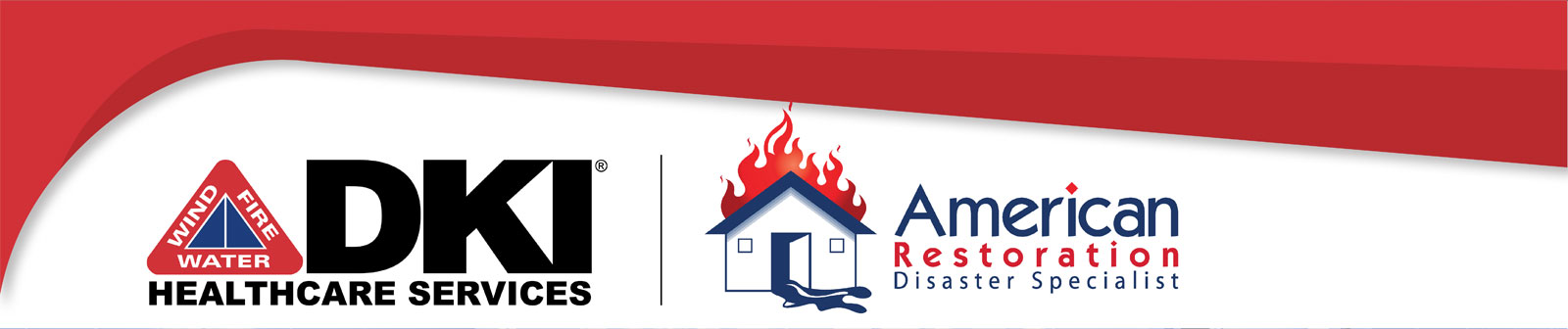 American Restoration and DKI Healthcare Services Logo