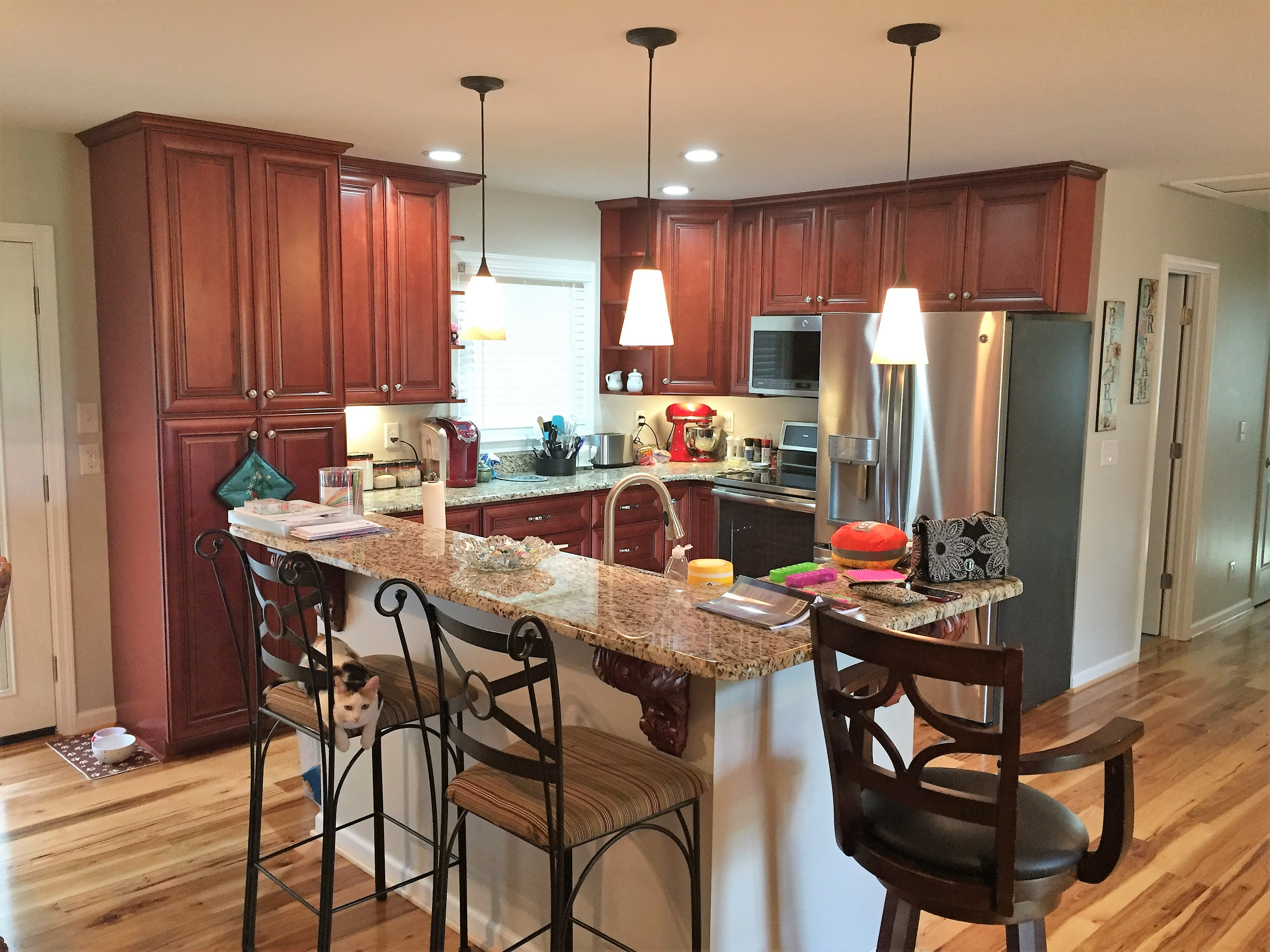 After Fire & Smoke Damage Restoration in Shelby NC - Kitchen